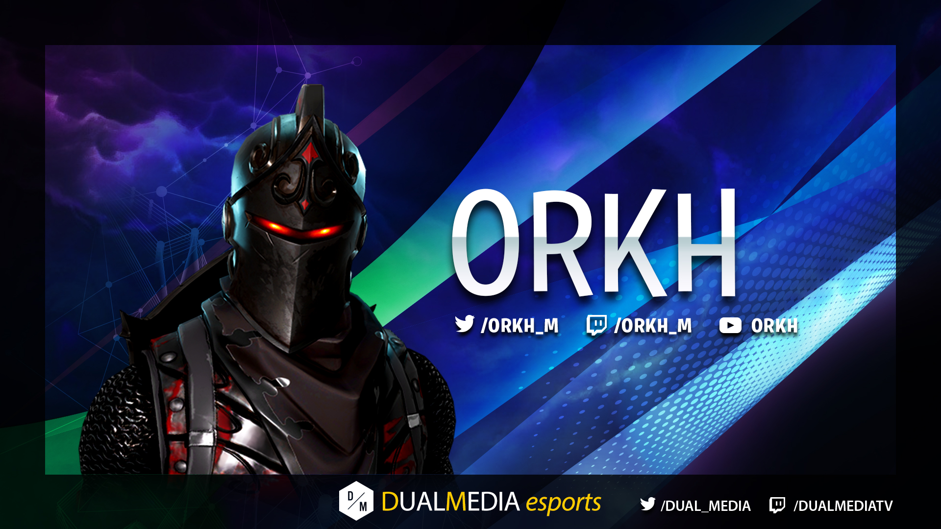 DualMedia Orkh Joueur Fortnite