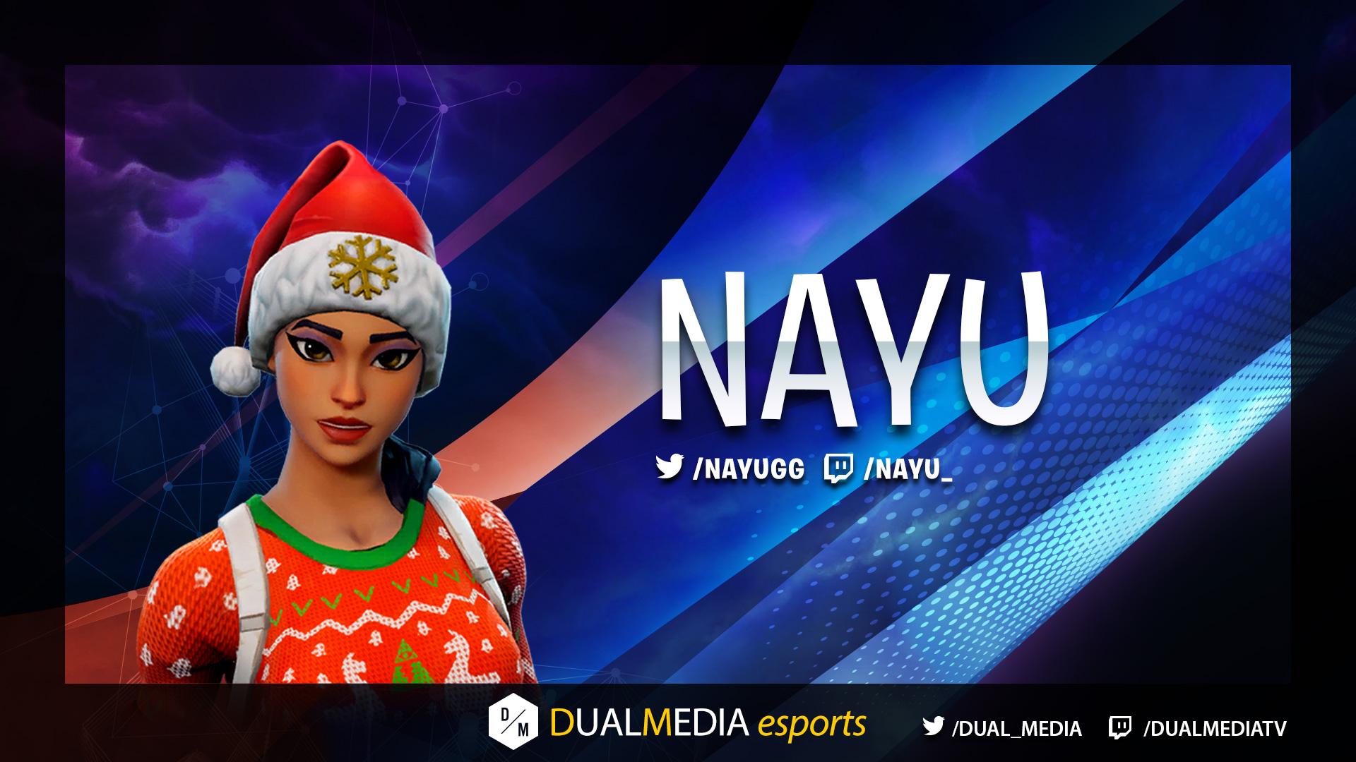 DualMedia Nayu Joueur Fortnite